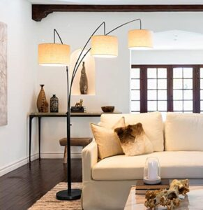 Brightech tall arched floor lamp
