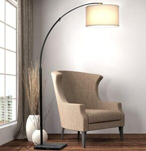 Brightech arc pendant floor lamp