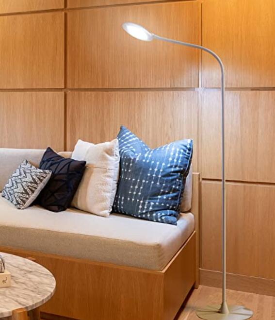 Brightech led floor lamp for readers and tailors