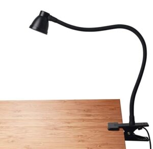 portable desk lamp with strong clamp