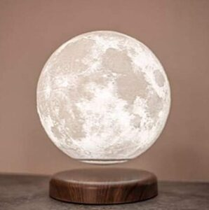 Levitate Moon lamp with Wireless Charging