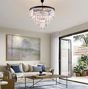 chandelier for high ceiling living room