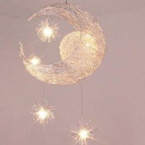 led moon pendant lamp for home