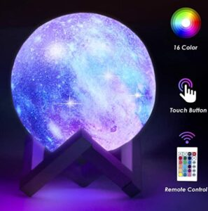 color changing moon lamp rechargeable