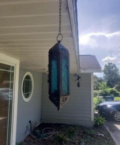 indoor and outdoor solar powered hanging lights