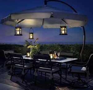 solar hanging patio lights reviews
