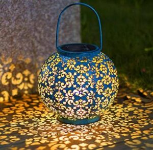 waterproof hanging solar globe lights for outdoor patio tables
