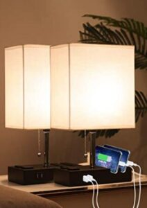 2 pack usb lamp with phone holder