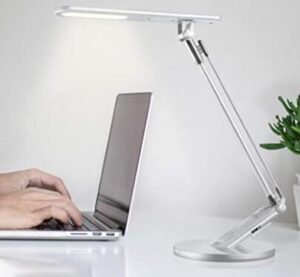 led light with swing arm for study table