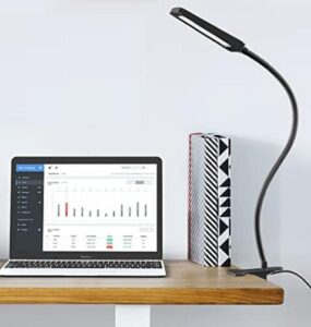 Trond compact clip on led daylight desk lamp