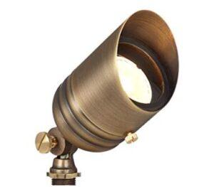 brass-made garden spotlights