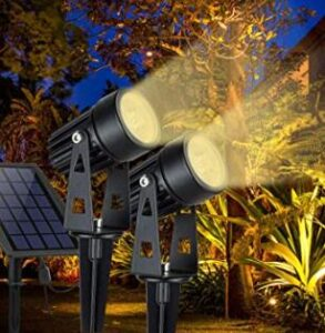 solar panel led garden lights