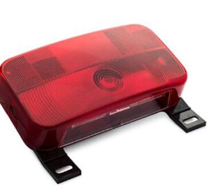 Red Surface Mount Tail Light and Stop and Turn Light