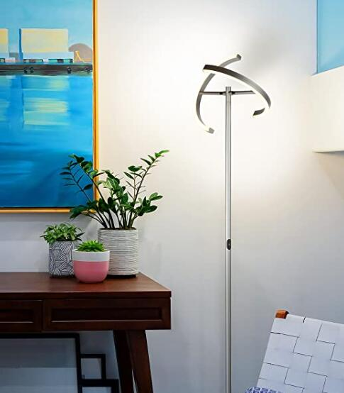 office floor lamps with adjustable lamp head
