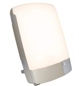 Carex lightweight sun lamp for office use