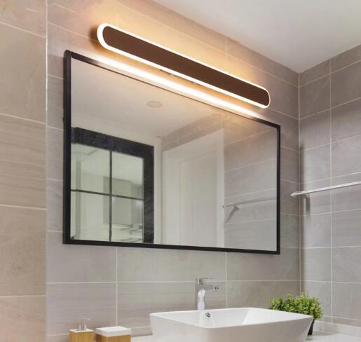 warm light for bathroom
