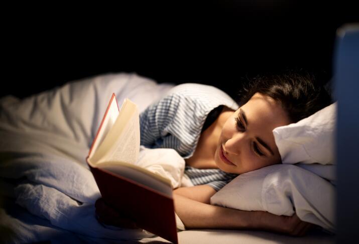 warm light better for nighttime reading