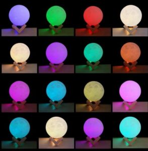 which color night lamp is best