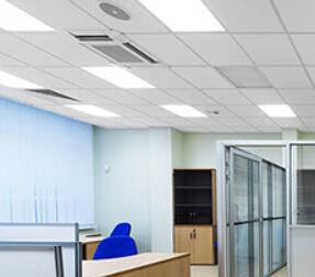 led light panel that easy on eyes for office