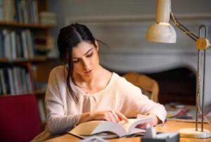 is led light good for reading
