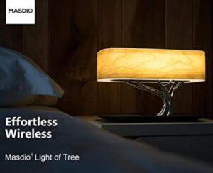 Ampulla multifunctional modern bedside lamp