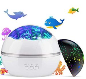 night light projector with music for 5 year old children