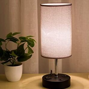 led bedside table lamp for reading