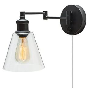 Globe Electric wall sconce light