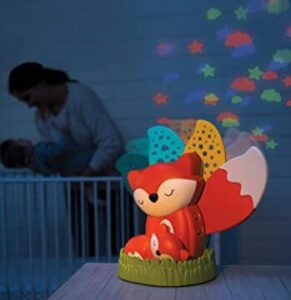 nursery projector and sound system