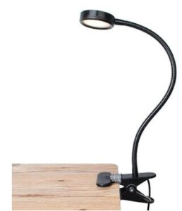 Lepower led clip on reading and studying light