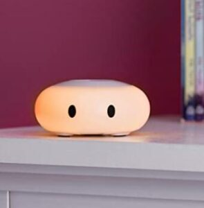 LittleHippo mini nursery night light with soft glow