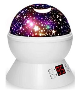 nursery star ceiling projector