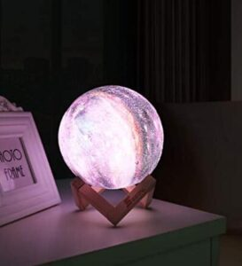 decorative moon night light for 4 year old