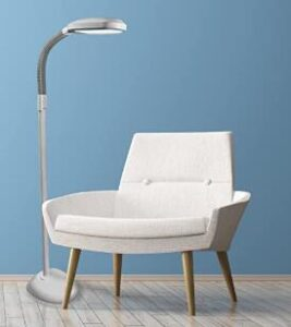 Verilux led floor lamp for reading and studying