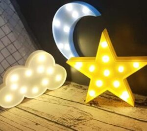 decorative nursery nightlight