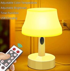 small portable tabletop night light for 4 year old bedside