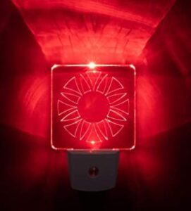 red night light for better sleep