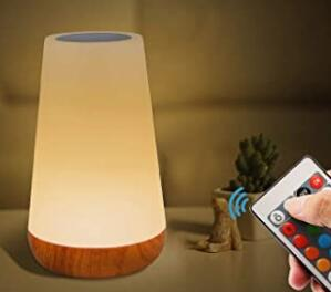 Mixigoo led bedside lights with remote