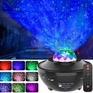 rotating starry night light projector for 4 year old