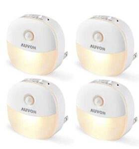 plug in night light with soft glow and motion sensor for 2 year old