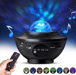 nursery night light projector with remote