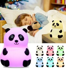 portable red night light for baby