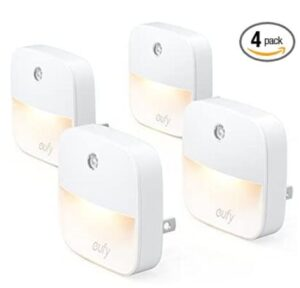 4 pack plug in compact and lightweight night light for seniors
