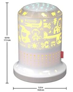Fisher Price night light projector with smart app connection