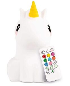 Lumipets touch activated nightlight with changing colors and remote control