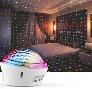 led adult star projector with multiple light modes for bedroom