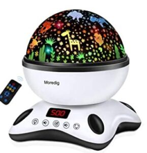 animal night light projector