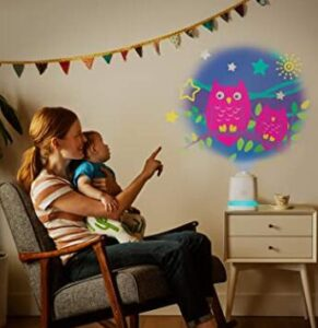 Munchkin night light projector for kids