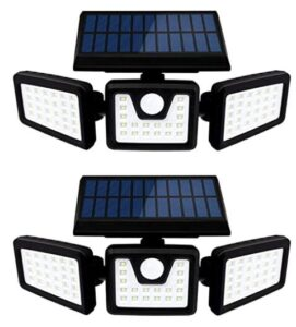 waterproof and solar powered motion night light