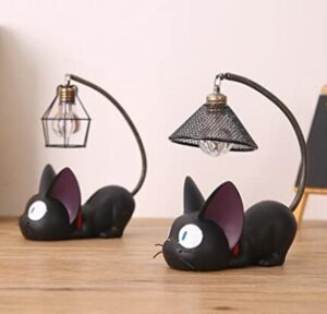 decorative tabletop night light for cat and cat owners